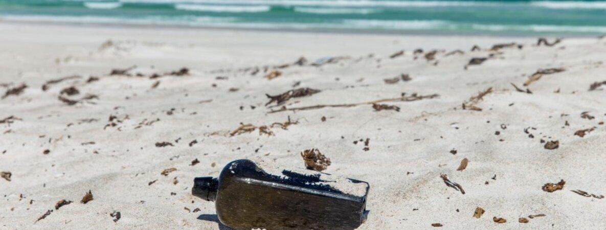Flaschenpost Australien