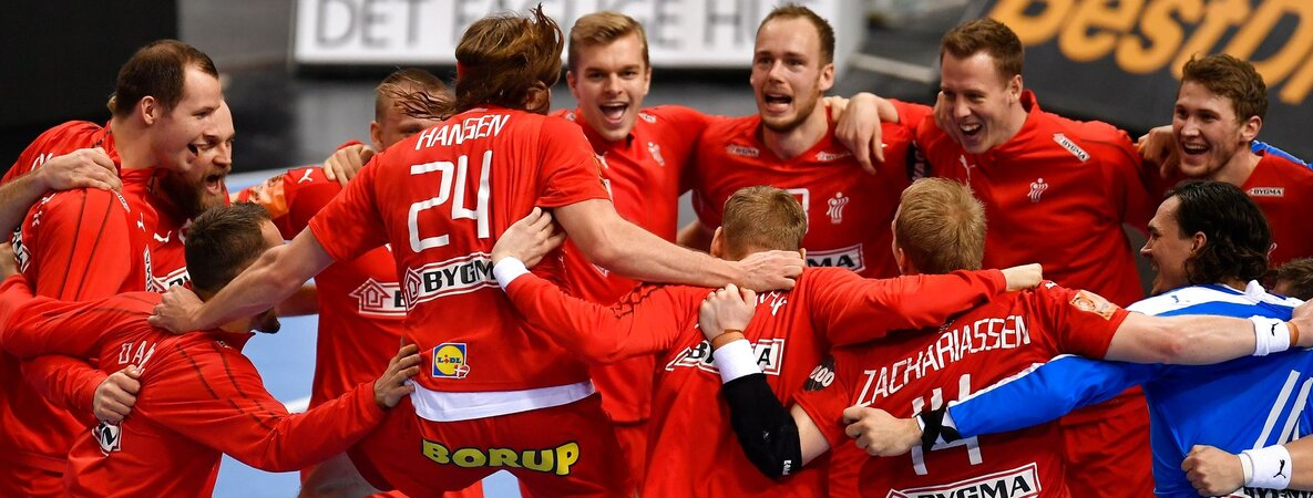 Dänische Handball Nationalmannschaft