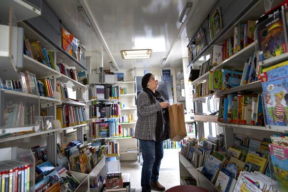 Bücherbus Apenrade